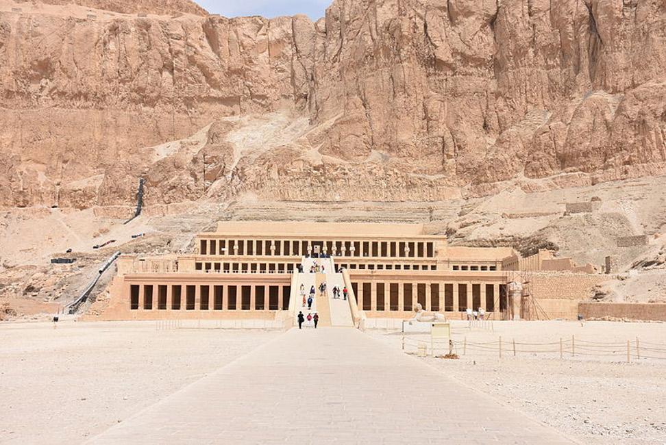 Templo funerario de Hatshepsut. (MusikAnimal/Wikimedia Commons)