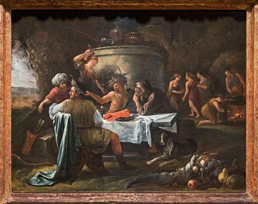 'Teseo y Aqueloo' (1659-1660), óleo de Jan Steen. (Dominio público)
