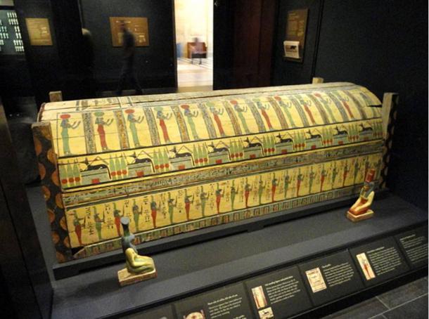 Ataúd del antiguo Egipto procedente de Meret-it-es (Foto: Daderot/Wikimedia Commons)