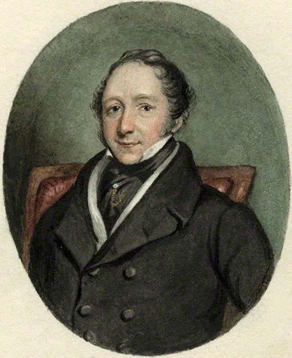 Retrato de Thomas Pettigrew realizado por Skelton. (Dominio público)