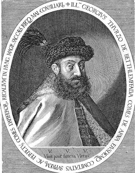 """El Conde Jorge Thurzó, principal acusador en la causa contra la """"Condesa Sangrienta"""" (Wikimedia Commons)"""