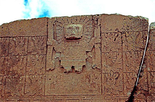 El Señor de los Báculos, dios supremo de Tiahuanaco (Flickr)