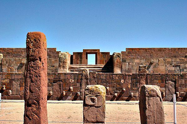 Imagen panorámica del interior del templete semisubterráneo del centro urbano (Flickr)