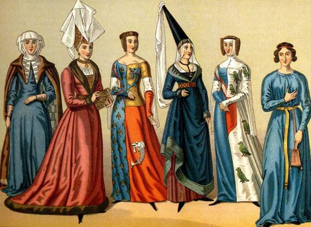 Diferentes tocados medievales (Flickr / CC BY 2.0)