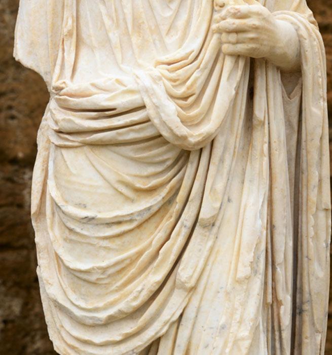 'Toga pura' de la antigua Roma. (rachid amrous/Adobe)