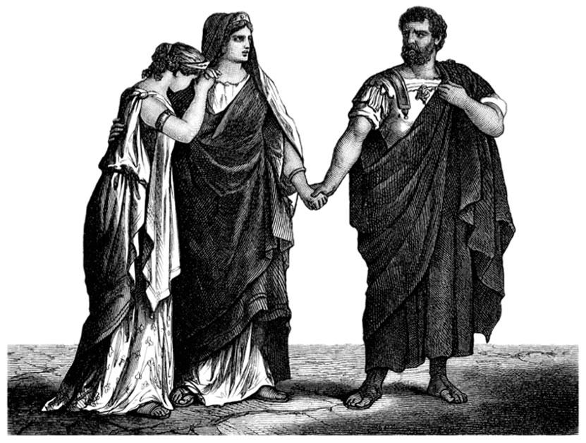 Togas de la antigua Roma. (Erica Guilane-Nachez/Adobe)