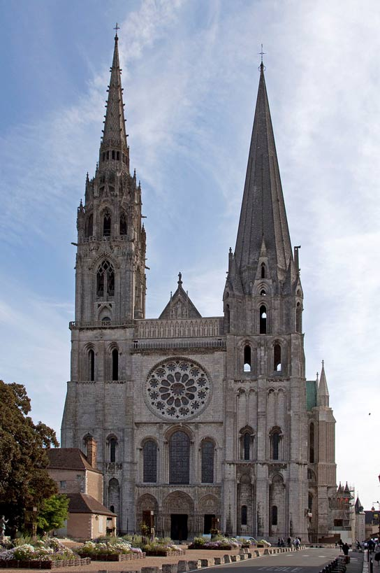 Catedral de Chartres. (CC BY 2.0)