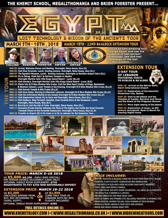 Tour antiguo Egipto - marzo 2018 - Hugh Newman