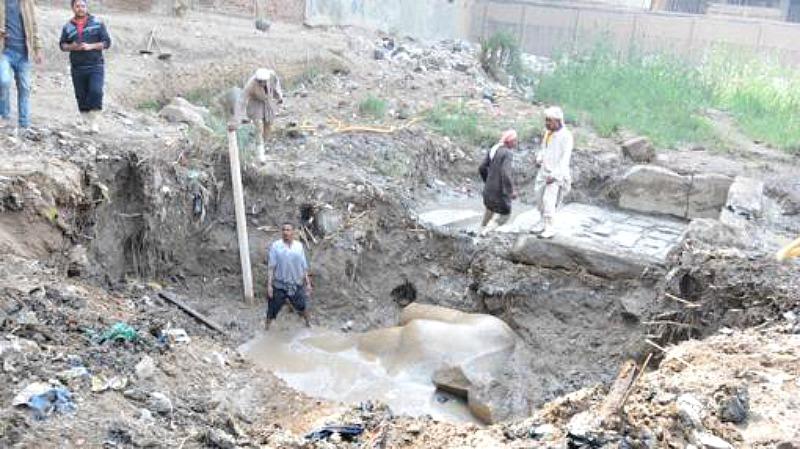 Los arqueólogos continuarán con las excavaciones en la zona para asegurarse de que no queden piezas aún sumergidas bajo el fango. (Fotografía: ABC)