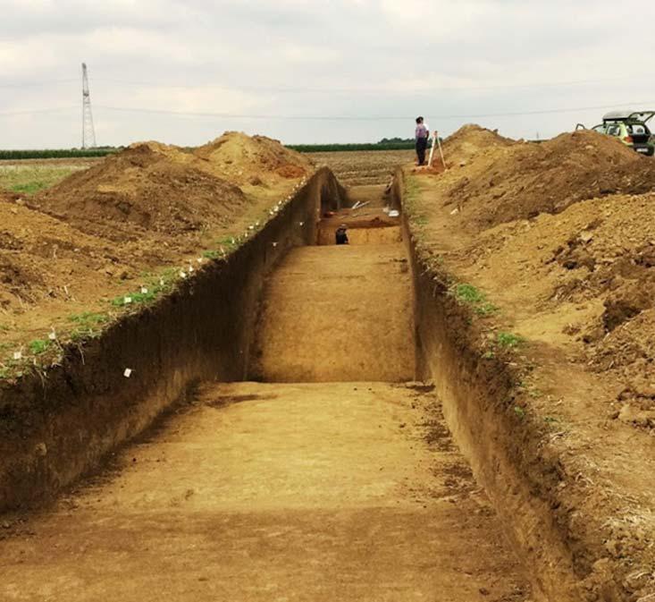 Los trabajos continuarán en el yacimiento de esta ciudadela de la Edad de Bronce el año próximo. (Aradon Romania)