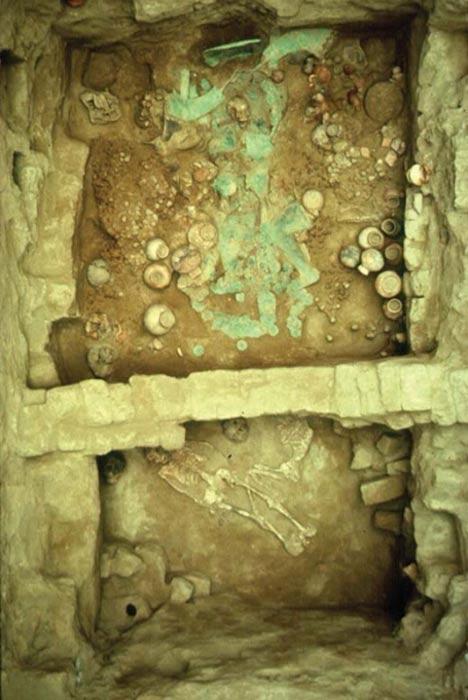 Tumba de la Primera Sacerdotisa. San José de Moro. (Luis Jaime Castillo Butters)