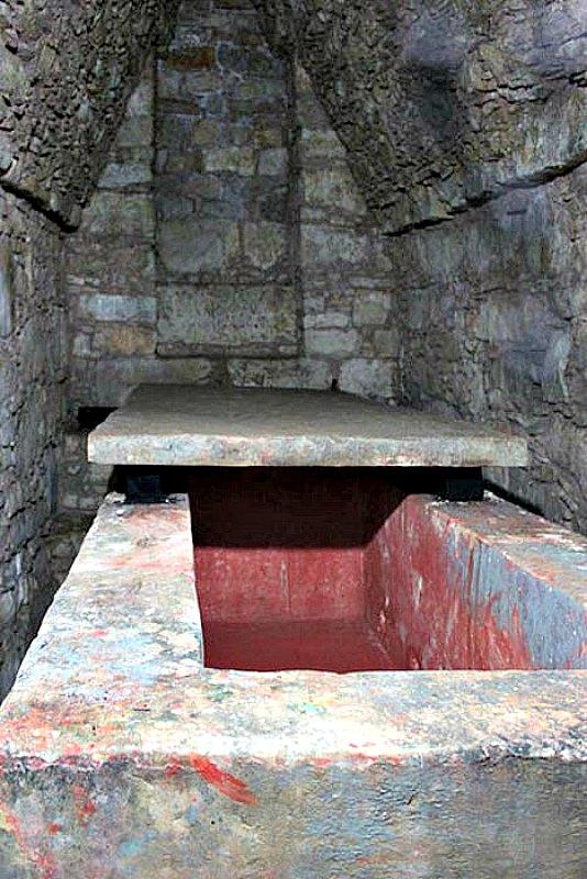 Tumba de la Reina Roja (Templo XIII), Palenque, Chiapas (México) (CC BY 3.0)