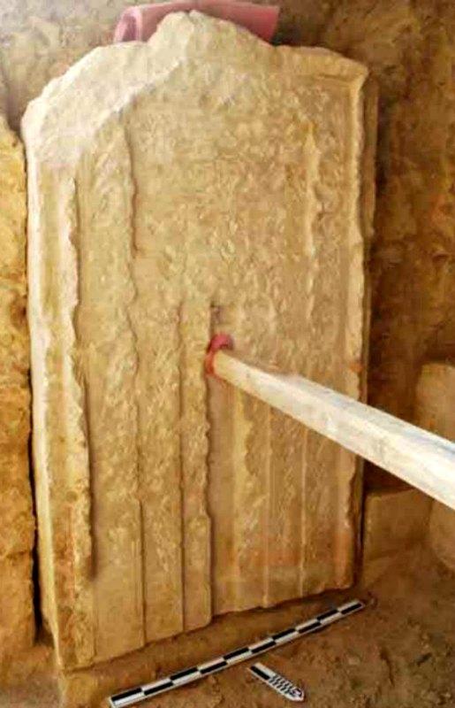 La tumba recién descubierta, localizada al sur de la pirámide de Sesostris I, permaneció varios milenios sepultada bajo las dunas de Dashur. (Fotografía: El Mundo/Ministerio de Antigüedades egipcio)