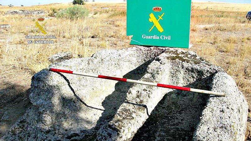 Dos de las tumbas visigodas recientemente descubiertas y hasta ahora no catalogadas. (Fotografía: encastillalamancha.es)
