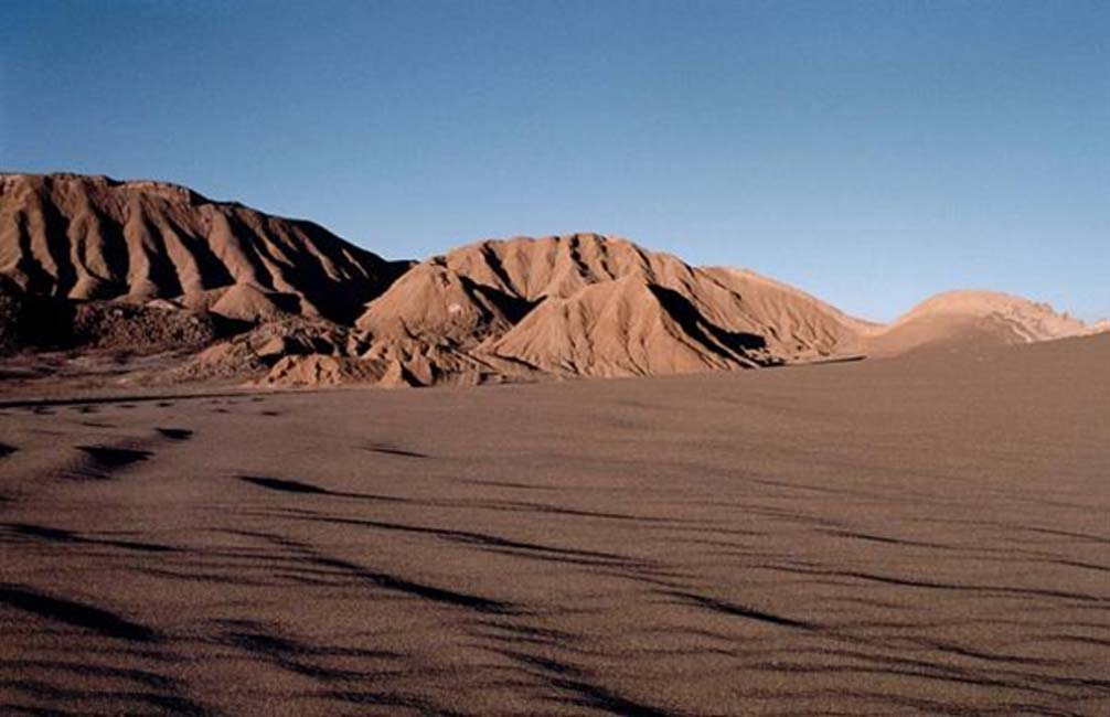 Valle de la Luna en el desierto de Atacama chileno (Reinhard Jahn Mannheim/Wikimedia Commons)