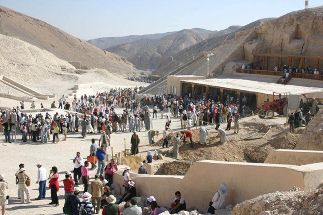 Valle de los Reyes, KV63. (Public Domain)