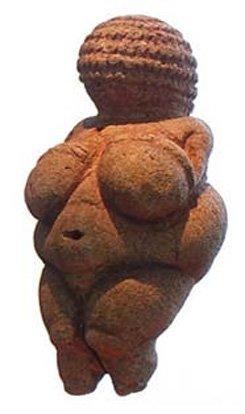 Este desnudo femenino, la famosa estatuilla de la Venus de Willendorf (22000 a. C. – 24000 a. C.) es el orgullo del Museo de Historia Natural de Viena. Imagen: S. Zucker (CC BY-NC-SA 2.0)