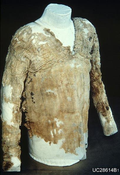 El Vestido Tarkhan (Museo Petrie de Arqueología Egipcia - UCL)