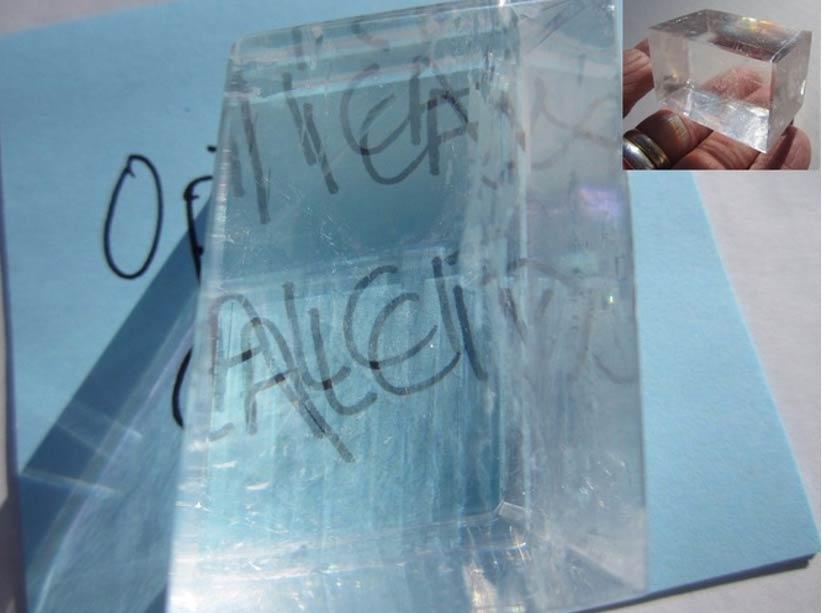 Visión duplicada a través de un cristal. Fotografía aportada por el autor