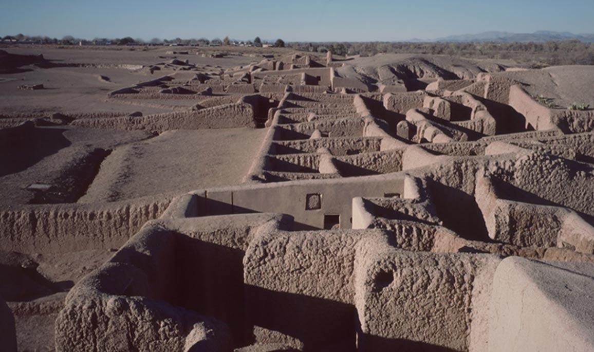 Vista del yacimiento arqueológico de Paquimé (Casas Grandes), México. (HJPD/CC BY SA 3.0)