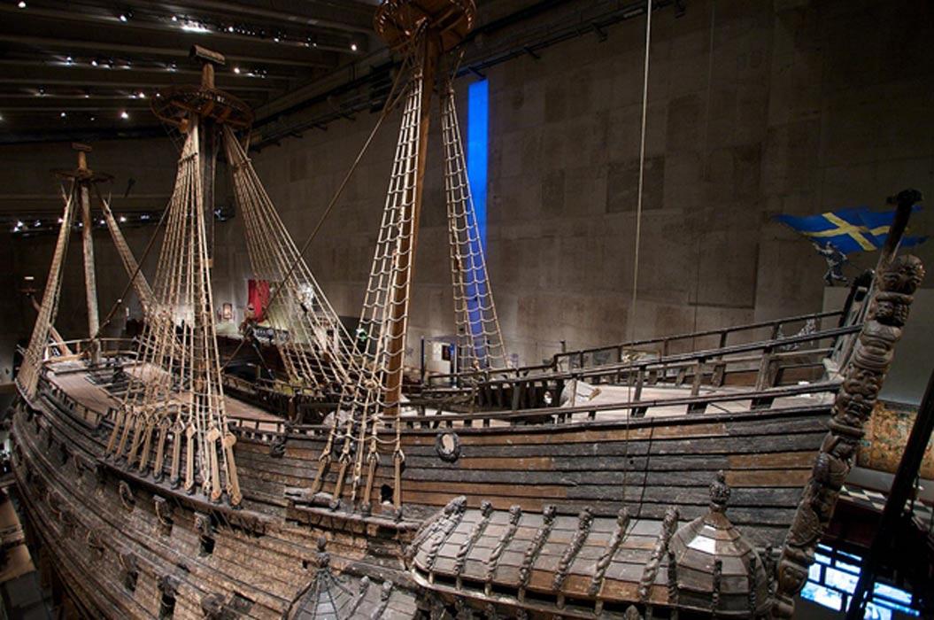 Vista lateral del Vasa. (CC BY-SA 3.0)