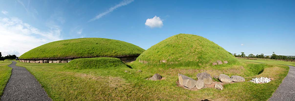 Vista panorámica de Knowth. (Günter Claßen/CC BY SA 3.0)