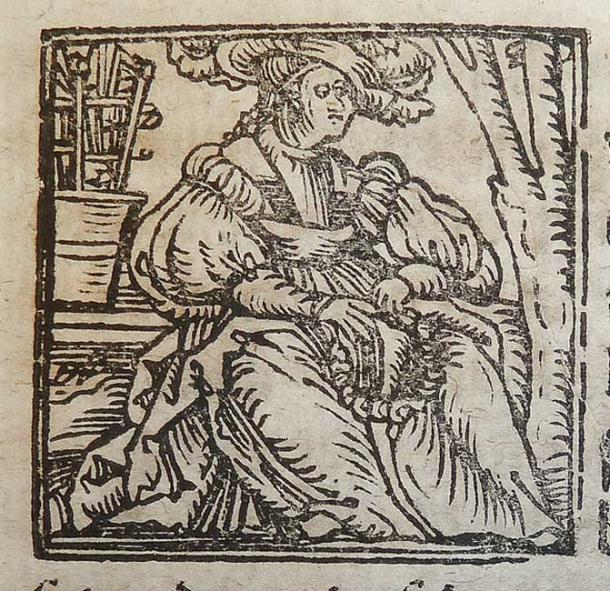 Ilustración de una xilografía del signo del zodíaco Virgo utilizada por Alexander y Samuel Weissenhorn de Ingolstadt. (POP/CC BY 2.0)