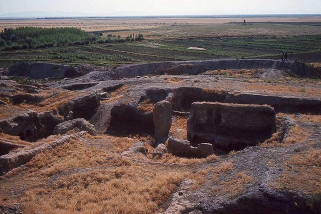 Parte de Çatalhöyük y sus alrededores. (Omar hoftun/ CC BY SA 3.0)