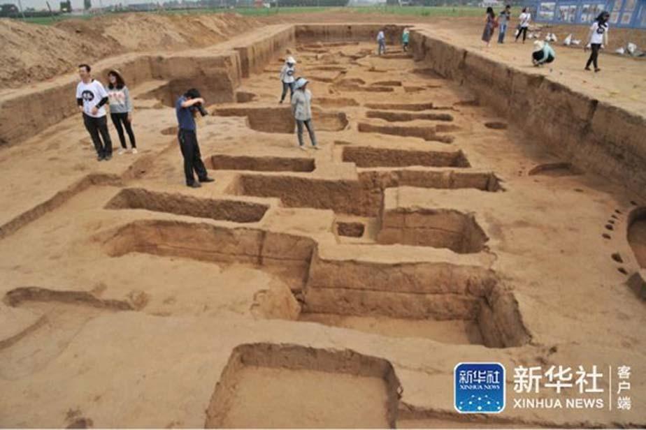 Yacimiento arqueológico de Jiaojia, provincia de Shandong. (XINHUA NEWS)
