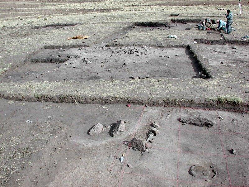 El equipo científico observó granos microscópicos de almidón recuperados del yacimiento arqueológico peruano de Jiskairumoko, en la imagen. (Public Domain)