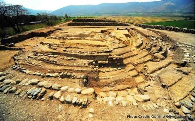 Yacimiento arqueológico de Montegrande, Perú. (Quirino Oliveria Nuñez)