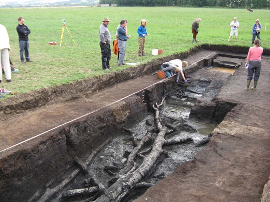 El antiguo yacimiento arqueológico de Star Carr ubicado en Yorkshire, Inglaterra. Crédito: The Carrs Wetland Project