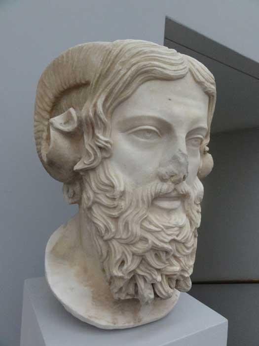 Busto de Zeus Amón (CC BY 2.0)