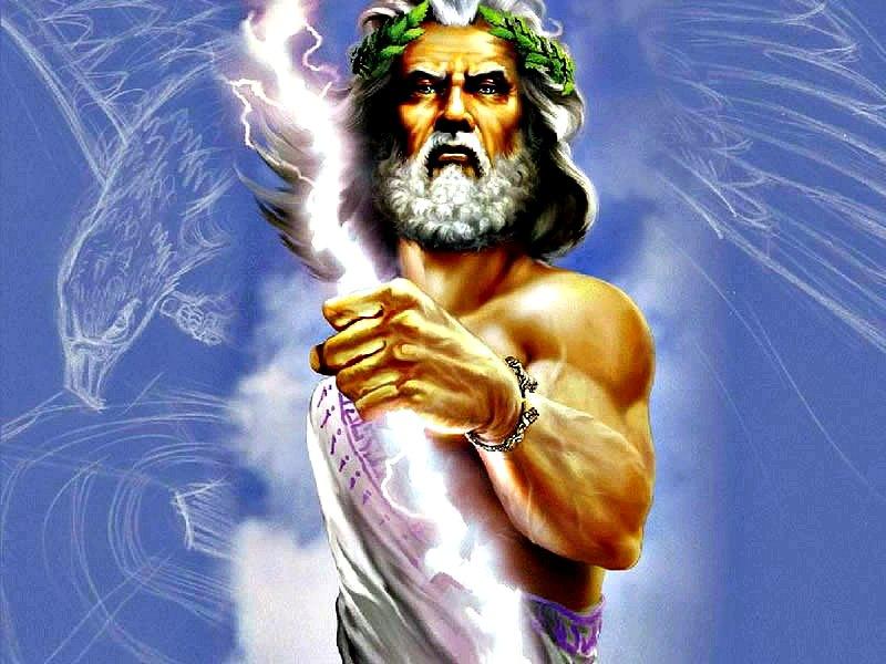 Zeus blandiendo el rayo. (Winiyouwi/CC BY-SA 4.0)
