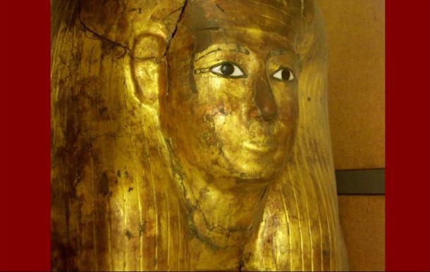 El sarcófago antropomorfo de Kha en el Museo Egipcio de Turín (Foto: Hans Ollermann/Wikimedia Commons)