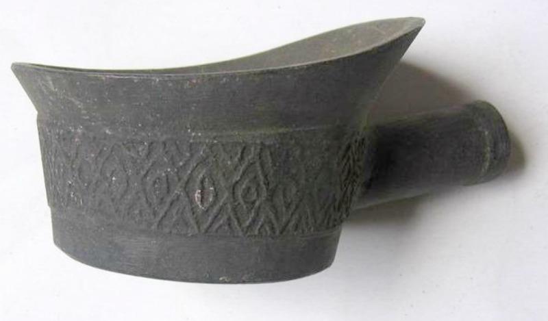 Antigua plancha de la dinastía Han, siglo II (Fotografía: La Gran Época)