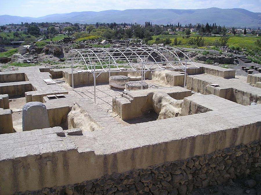 Antigua vivienda de un gobernador egipcio en Beit She'an. (Public Domain)