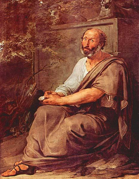Aristóteles de Francesco Hayez (dominio público)
