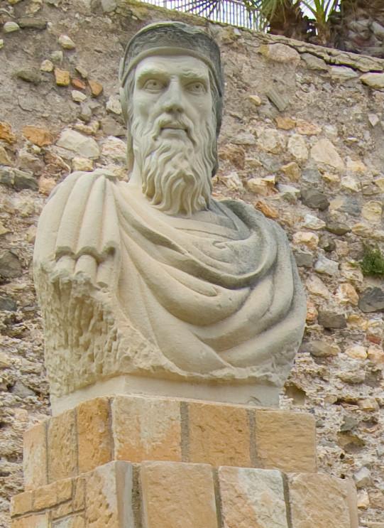 Busto dedicado al general cartaginés Asdrúbal el Bello en Cartagena, España, ciudad que fundó en el año 227 a. C. (Maarten Dirkse/CC BY 2.0)