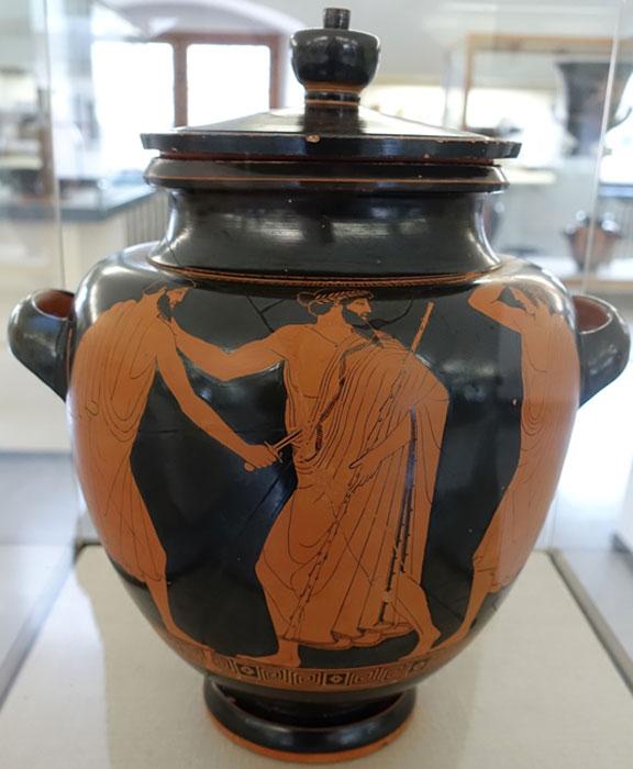 Asesinos antiguos legendarios Harmodius y Aristogeiton. (Daderot / Dominio Público)