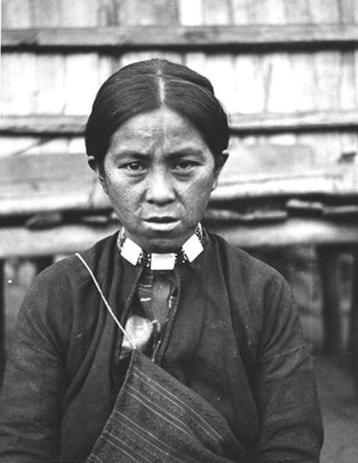 Mujer indígena atayal (dominio público)
