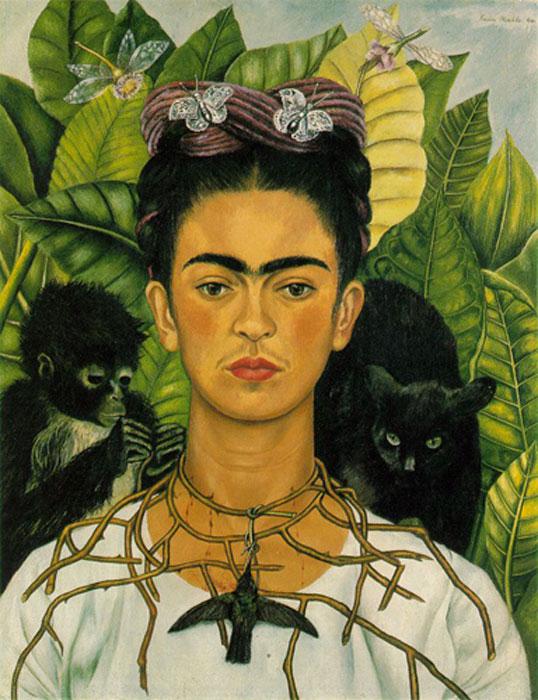 Autorretrato de Frida Kahlo (CC BY 2.0)