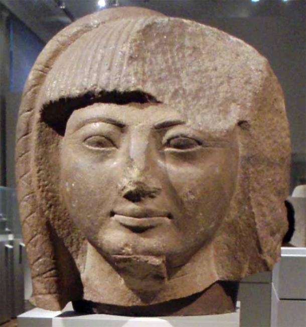 Foto de un fragmento de busto del príncipe Khaemweset. (Keith Schengili-Roberts / CC BY-SA 3.0)