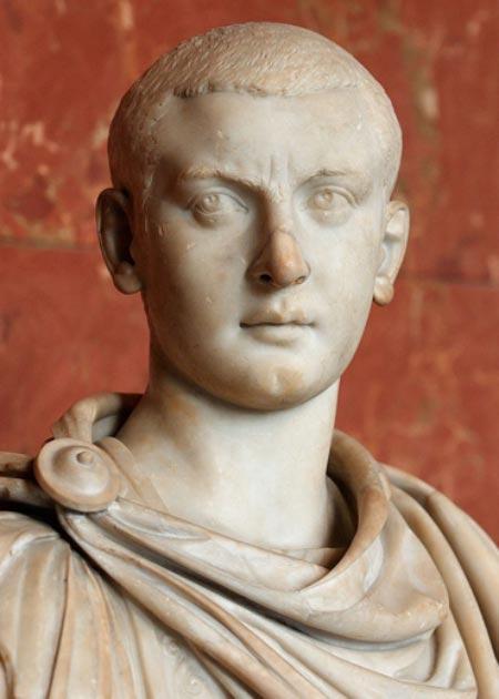 Busto de Gordiano III, emperador del imperio romano. (Jastrow / Dominio público)