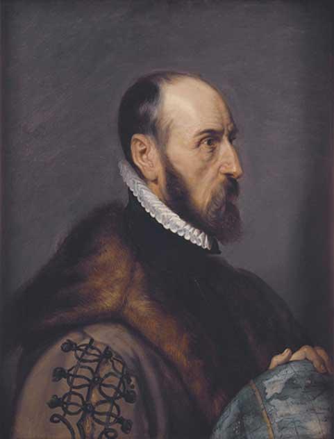 Retrato del cartógrafo Abraham Ortelius pintado por Rubens. (Public Domain)