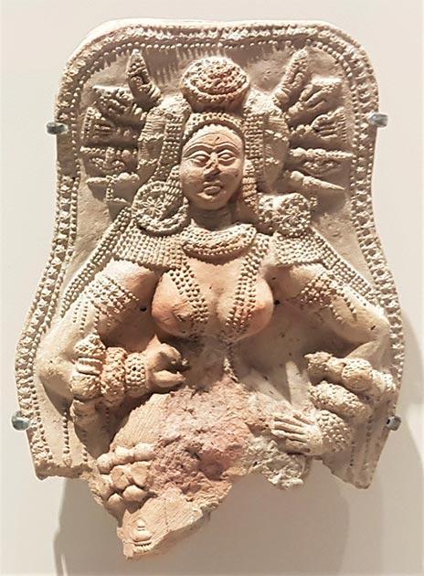 Artefacto Chandraketugarh Bengala Occidental, India. (Proporcionado por el autor)