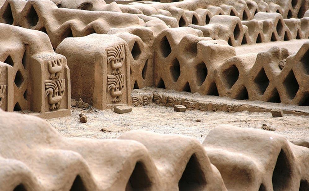 Las impresionantes construcciones de Chan Chan, capital de la cultura Chimú. (Carlos Adampol Galindo, Flickr/CC BY-SA 2.0)