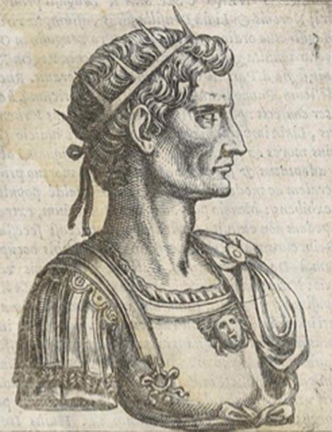 Grabado en cobre del emperador Octavio. (Diego Gasperotti / Dominio público)