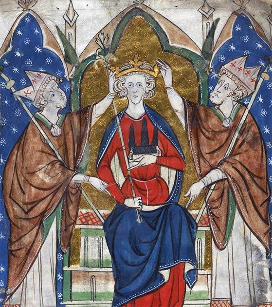 Coronación del Rey Enrique III. (Dominio público)
