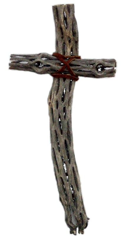 Cruz realizada por nativos americanos de Nuevo México a partir de un cactus Cholla. (Svobodat/CC BY-SA 3.0)